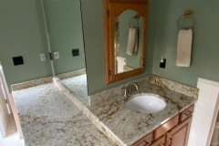 Colonial Gold master bathroom vanity in LaPlata MD.