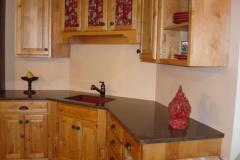 Granite countertops with no splash