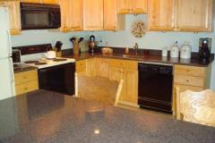 Granite kitchen with island