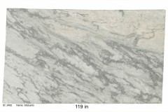 Statuario hard marble.