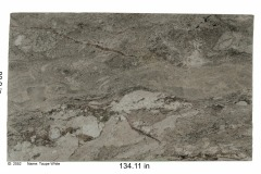 Taupe White granite is a versatile stone that can be used in any application including kitchen countertops, bathroom vanities, fireplace surround, accent wall or backsplash. A white background with heavy crystals of rose quartz, black and gray flecks. Low-Mid range price.